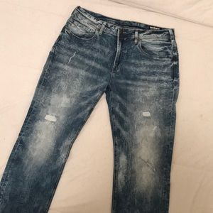 Brand New Men's Buffalo Distressed Stretch Jeans